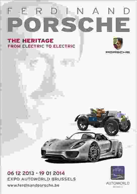 Affiche Ferdinand Porsche, The Heritage - from electric to electric - LR