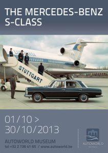 Affiche - Expo Mercedes - Autoworld oct