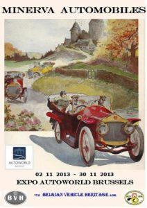 Copie de Affiche - Expo Minerva - Autoworld - Nov 2013