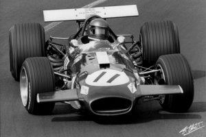 J Ickx au GP de France 69